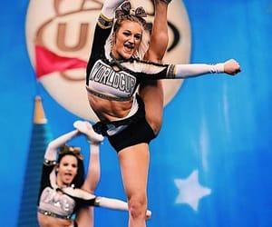 allstar, cheerleader, and competition image