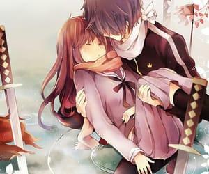 anime, anime couple, and couple anime image
