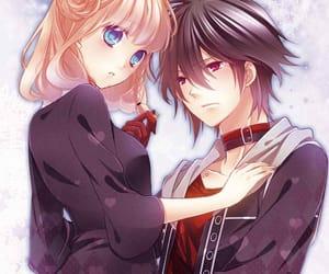 anime, cute, and anime couple image