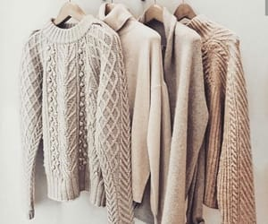 autumn, fashion, and knitted image