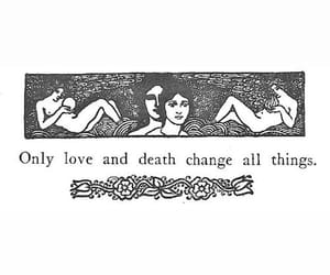 change, love, and death image