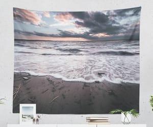ocean, sea, and wall decor image