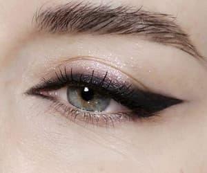 eye, makeup, and style image