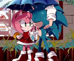 sonic, Sonic the hedgehog, and sonamy image