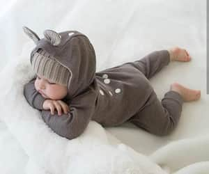 adorable, baby, and cute image