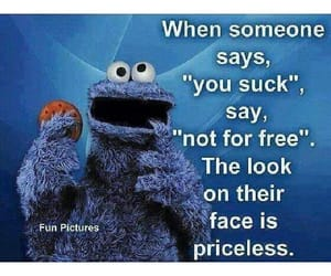funny cookie monster image