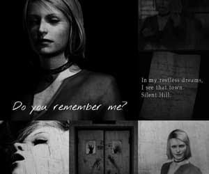 dark, game, and silent hill image