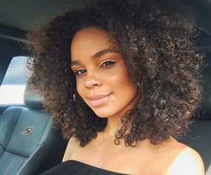beauty, car, and curly image
