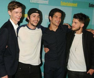 tyler posey, dylan o'brien, and teen wolf image