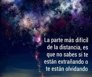 vida, olvidar, and distancia image