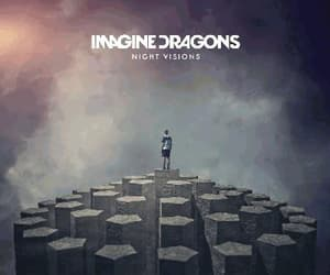 music, night visions, and 6 years image
