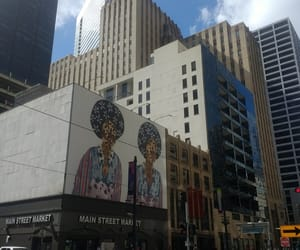 art, downtown, and mural image