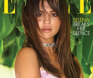 selena gomez and Elle image