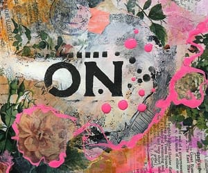art journal, journaling, and stencils image