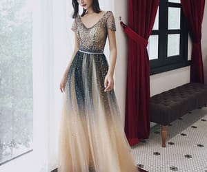 backless, a-line princess, and sequins image