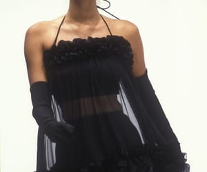 fashion, black, and 90s image