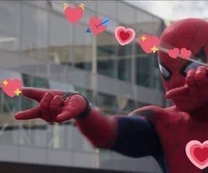 meme, spiderman, and love image