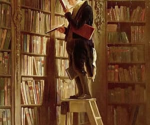 books, old, and man image