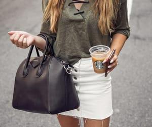 fashion, style, and starbucks image