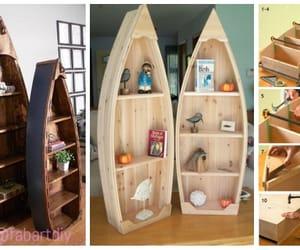 pallet furniture and boat shelf image
