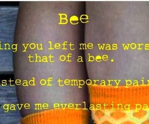 bee, emotions, and new image