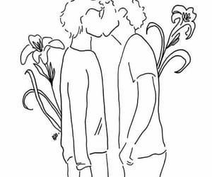 drawing, love, and lgbt image