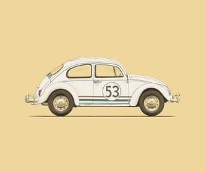background, yellow, and car image