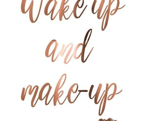 quotes, make up, and makeup image