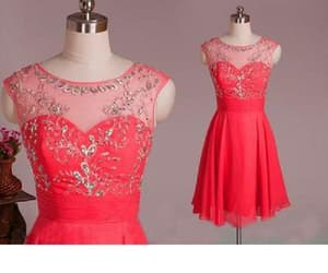 cute party dress, homecoming dresses short, and party dress cheap image