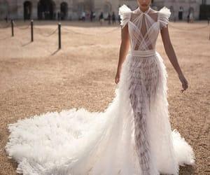 fashion, beautiful, and bride image