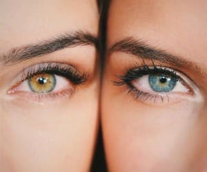 eyes, filles, and yeux image