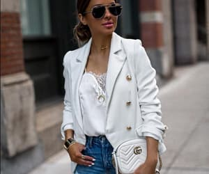 brunette, fashion, and gucci image