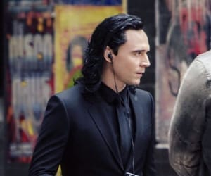 thor, loki, and tom hiddleston image