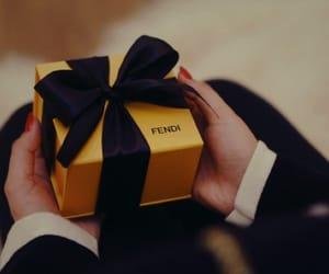 fendi, gift, and present image