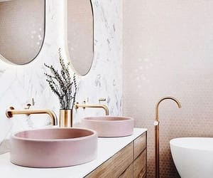 design, interior, and pink image