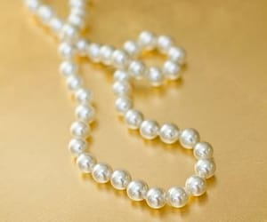 beauty, pearls, and fashion image