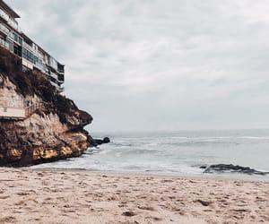 beach, holidays, and ocean image
