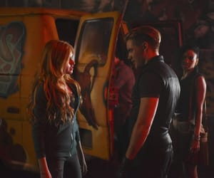 shadowhunters, clary fray, and jace image