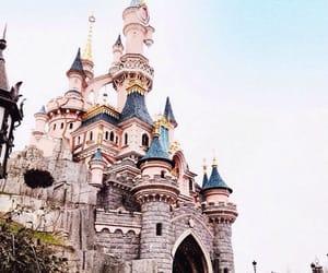 disneyland, castle, and disney image