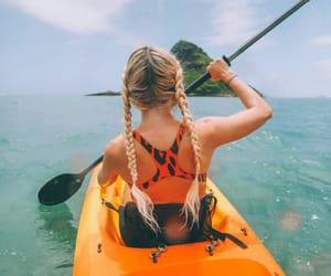 girl, kano, and sea image