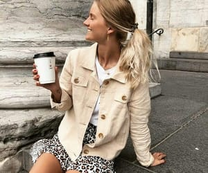 beige, coffee, and fall image