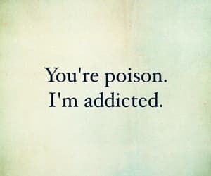 quotes, addicted, and love image