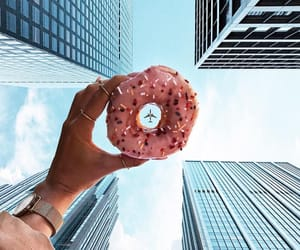 donuts, food, and sky image