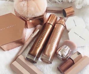 makeup, beauty, and fenty image