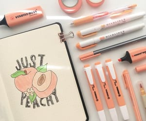 peach and theme image