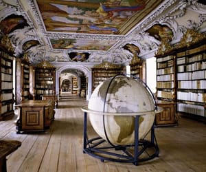 architecture, books, and ceilings image