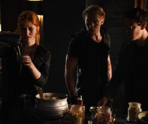 the mortal instruments, simon lewis, and jace wayland image