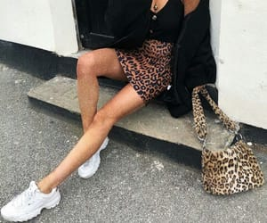 bag, cheetah, and leopard image