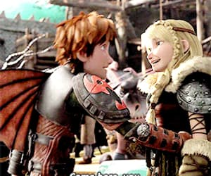 gif and how to train your dragon image