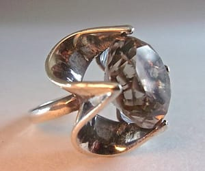 etsy, size 7, and sterling silver ring image